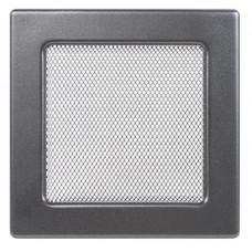 Вент.решетка 170х170 мм. графит