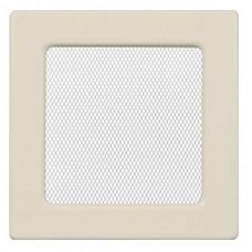 Вент.решетка 170х170 мм. кремовый