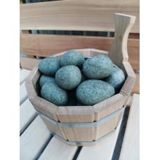 Камень для бани Жадеит шлифованный мелкая фракция 10 кг