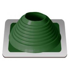 Уплотнитель кровельный №6 силикон 127-228 mm зелёный