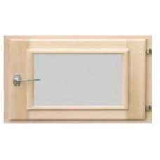 Оконный блок (форточка) стеклопакет липа 40*30